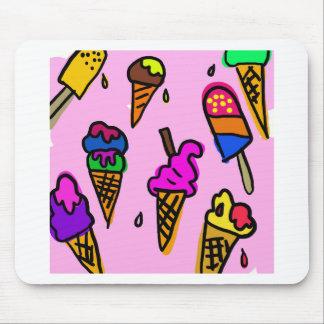 Mousepad Papel de parede do sorvete