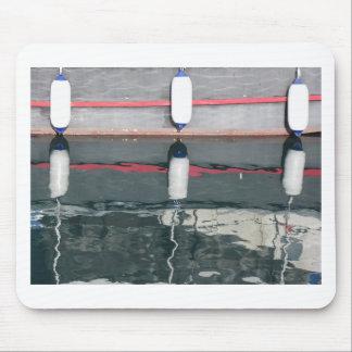 Mousepad Pára-choques do barco que penduram no conselho
