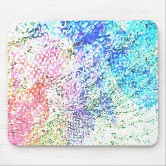 Mousepad Para o amor da cor - Pastel do caleidoscópio