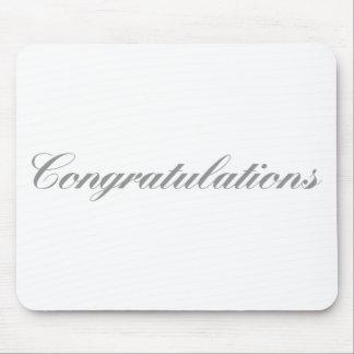 Mousepad parabéns
