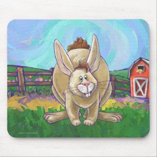 Mousepad Parada bonito do animal do coelho