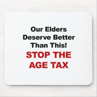 Mousepad Pare o imposto da idade