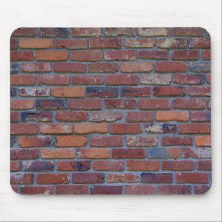 Mousepad Parede de tijolo - tijolos e almofariz misturados