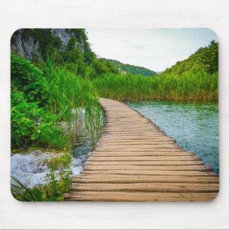 Mousepad Parque nacional de Plitvice em fugas de caminhada