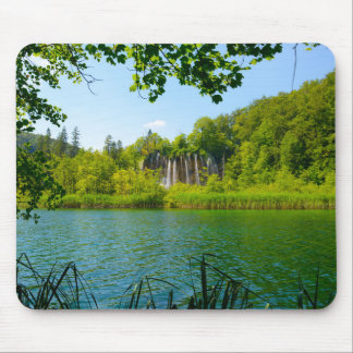 Mousepad Parque nacional dos lagos Plitvice em Croatia