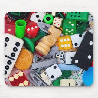 Mousepad Partes variadas do jogo em um tapete do rato