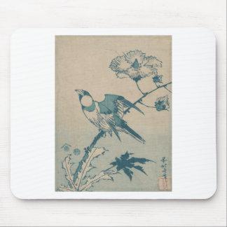 Mousepad Pássaro azul
