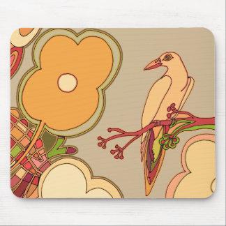 Mousepad Pássaros lunáticos (alguma cor que você escolher!)
