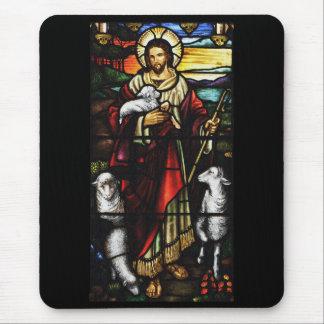 Mousepad Pastor de Jesus com seus carneiros