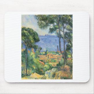 Mousepad Paul Cezanne - ideia do d'If de L'Estaque e de