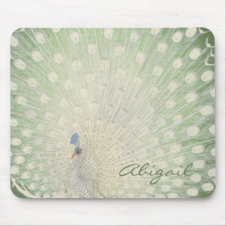 Mousepad Pavão japonês das belas artes | do vintage