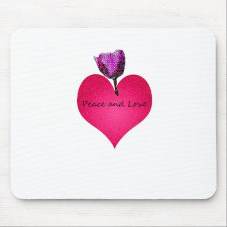 Mousepad paz e amor