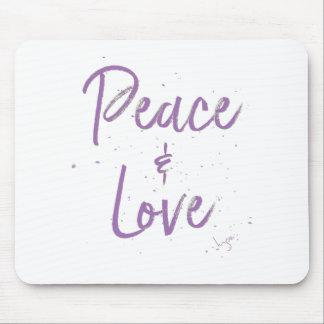 Mousepad Paz-e-Amor-Roxo
