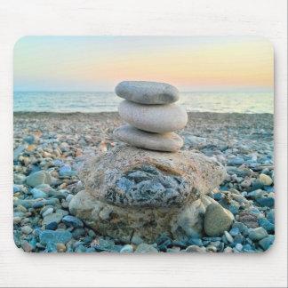 Mousepad Pedras da praia do zen