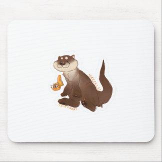 Mousepad Peixe dourado do n da lontra