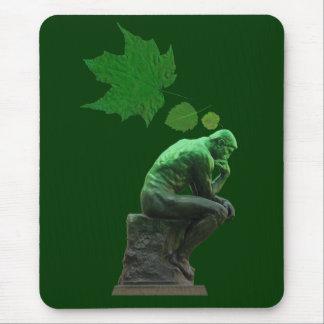 Mousepad Pense verde