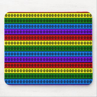 Mousepad Pentacle do arco-íris