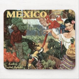 Mousepad pequeno da imagem do vintage de México
