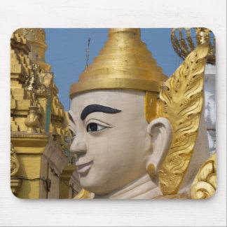 Mousepad Perfil da estátua de Buddha