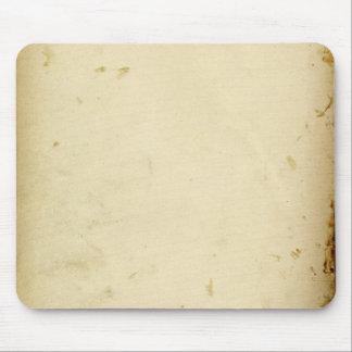 Mousepad Pergaminho antigo vazio amarelado manchado do