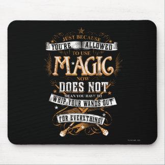 Mousepad Período   de Harry Potter apenas porque T é
