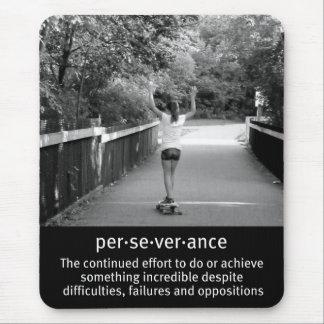 Mousepad Perseverança fêmea de Longboard