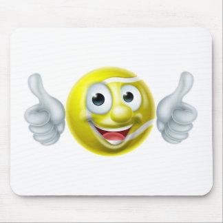 Mousepad Personagem de desenho animado do homem da bola de