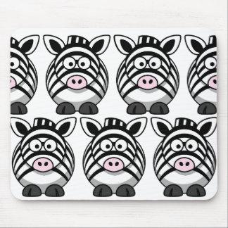 Mousepad Personalize a zebra bonito
