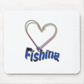 Mousepad pesca do amor