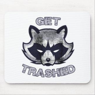 Mousepad Pessoas do partido da panda do lixo