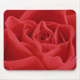Mousepad Pétalas de rosa vermelha