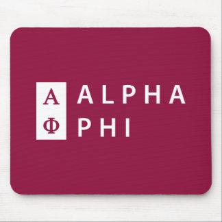 Mousepad Phi alfa   empilhado