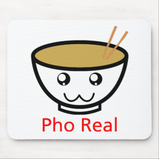 Mousepad Pho real