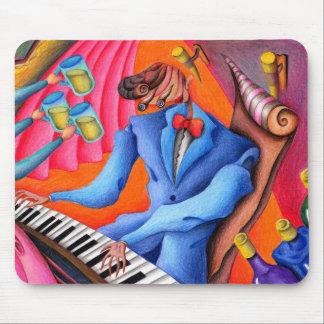 Mousepad Pianista do jazz