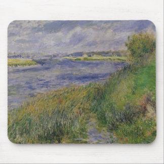 Mousepad Pierre bancos de Renoir um | do Seine, Champrosay