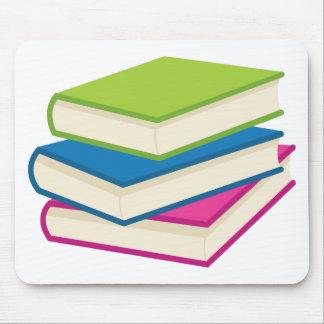 Mousepad Pilha de livros