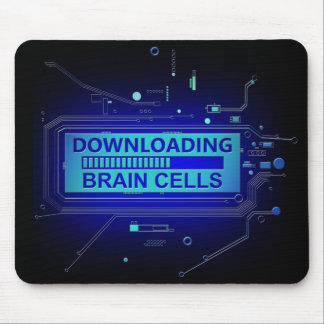 Mousepad Pilhas de cérebro da transferência
