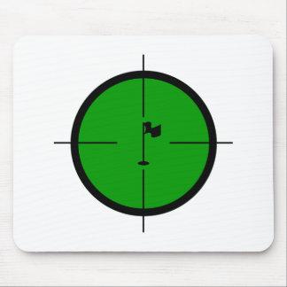 Mousepad Pin do golfe nos Crosshairs