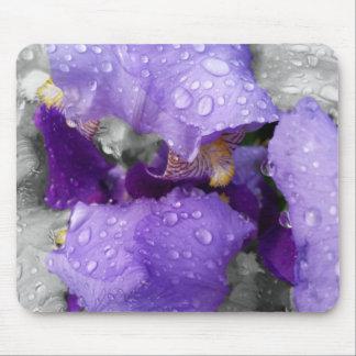 Mousepad pingos de chuva na íris