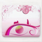"Mousepad ""pink land"""