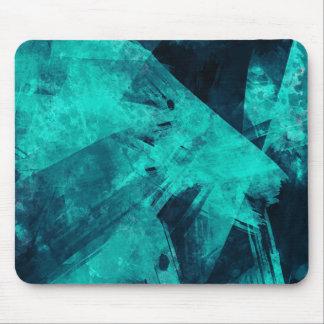 Mousepad Pintura Azul-Preta