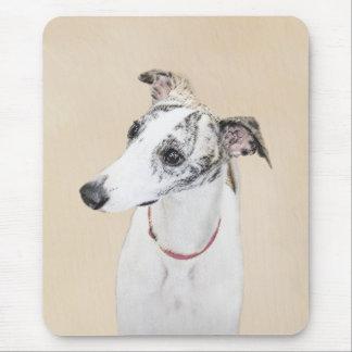 Mousepad Pintura de Whippet - arte original bonito do cão