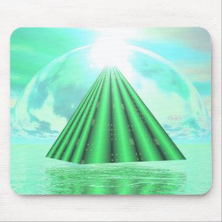 Mousepad Pirâmide Mystical - 3D rendem