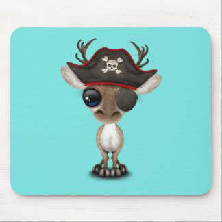 Mousepad Pirata bonito da rena do bebê
