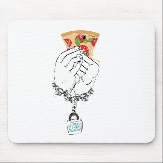 Mousepad Pizza saboroso dos desenhos animados e Hands2