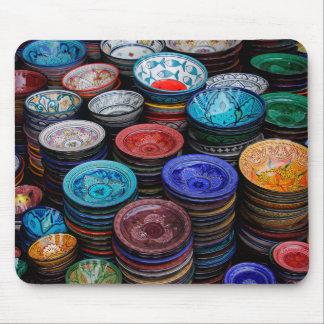 Mousepad Placas marroquinas no mercado