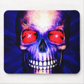 Mousepad Poder azul do crânio
