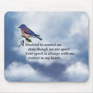 Mousepad Poema do memorial do Bluebird