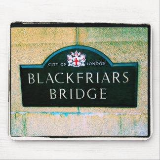 Mousepad Ponte de Blackfriars - cidade de Londres -