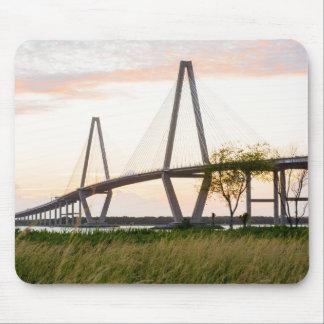 Mousepad Ponte de Charleston South Carolina - rio do